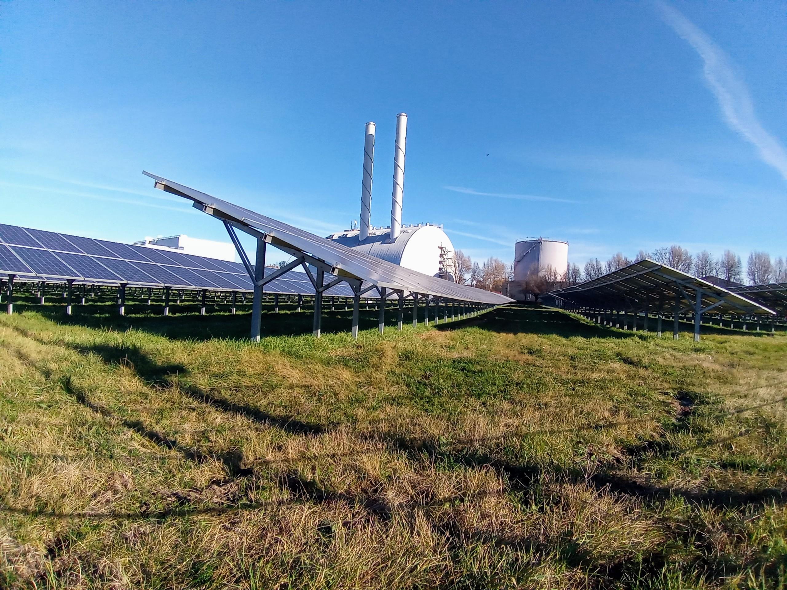 Hier wird für einen Teil der Wiener Haushalte nachhaltige Energie erzeugt.