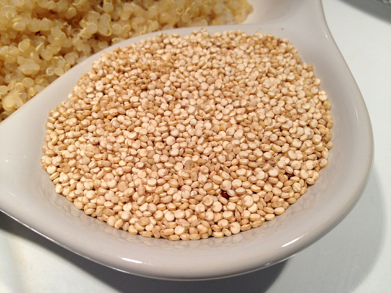 Eigentlich gar kein Getreide – Quinoa zählt, wie auch der Amaranth auch, zum sogenannten Pseudegetreide. Fotocredit: © NatureFriend/Pixabay