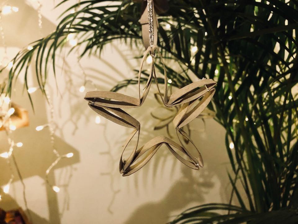 Last Minute Weihnachtsdeko aus Klopapierrollen. -Fotocredits: Lisa Radda