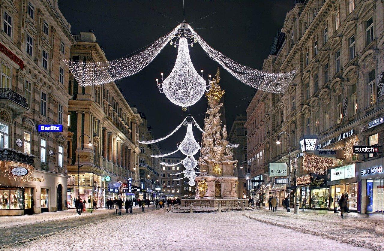 Der Glanz der Innenstadt Wiens – auch nach Silvester rasch wieder hergestellt. Fotocredti: © Julius Silver/Pixabay