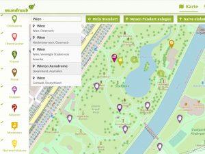 Fotocredit: Screenshot/mundraub.org
