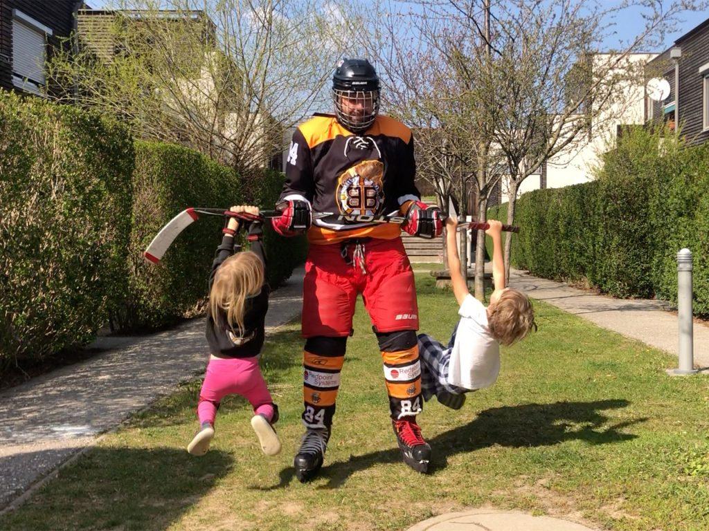 Krafttraining als Familie, Fotocredit: Ulrike Göbl, Fit&Glücklich