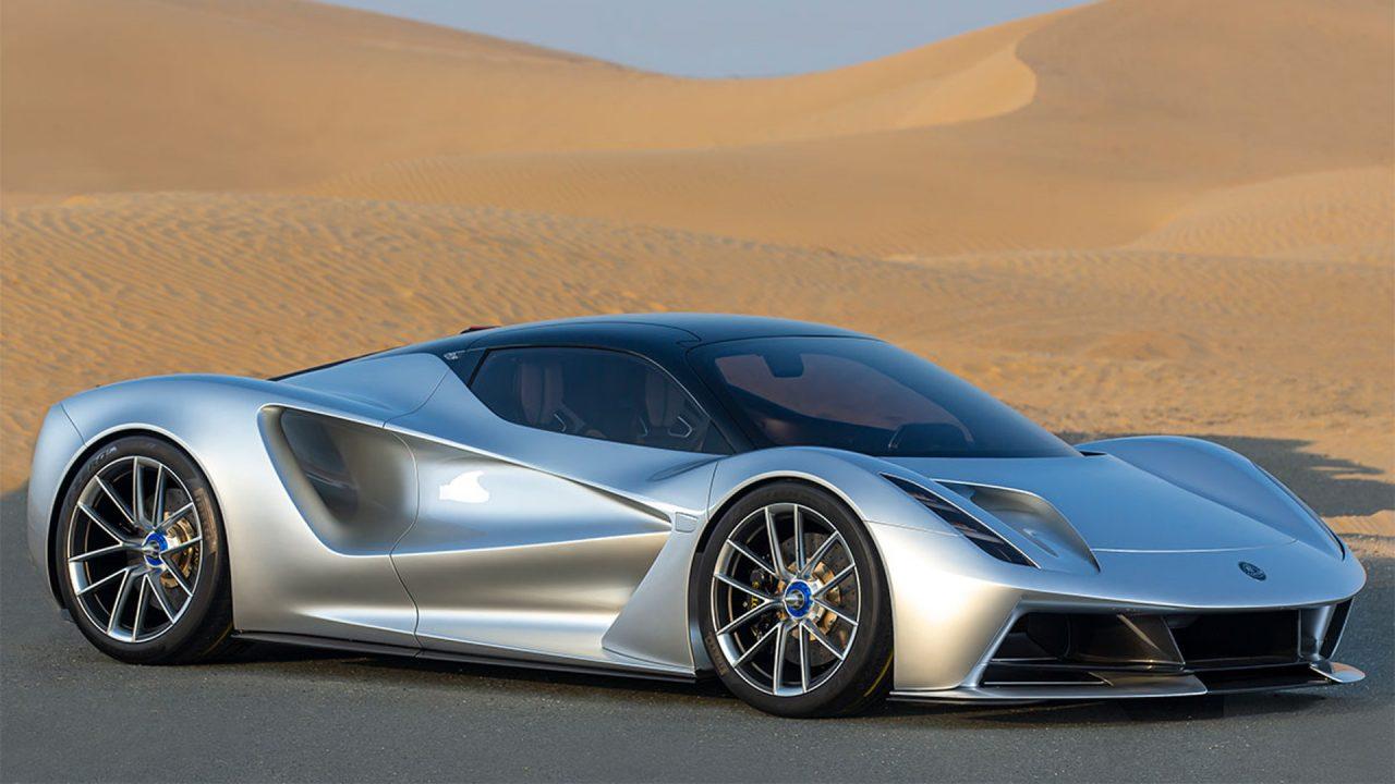 2000 PS beschleunigen den 2 Millionen Euro teuren Lotus Evija in unter 3 Sekunden von 0 auf 100 km/h. Bild: Lotus