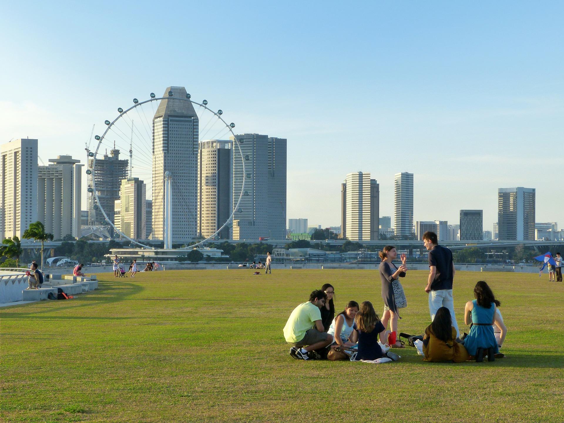 Singapur – ein städtisches Vorbild nicht nur in Punkto Sauberkeit sondern auch im Hinblick auf Vernetzung. Fotocredit: © Jason Goh/Pixabay