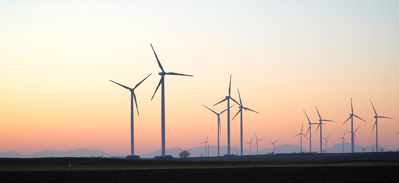 Wind spielt eine zentrale Rolle beim grünen Strom in Deutschland. Fotocredit: © Matthias Böckel/Pixabay