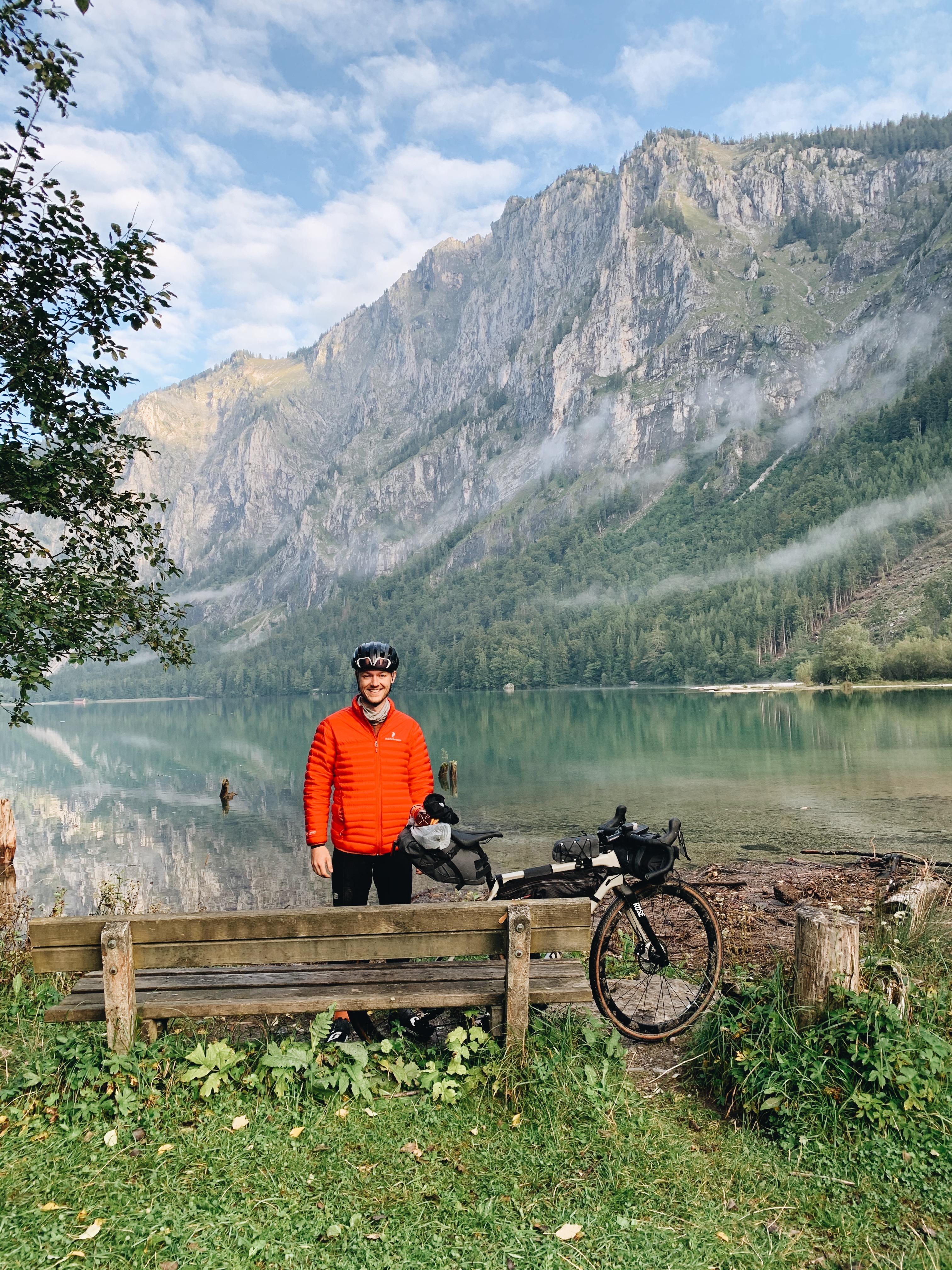 Leopldsteinersee, Radreise, Bikepacking