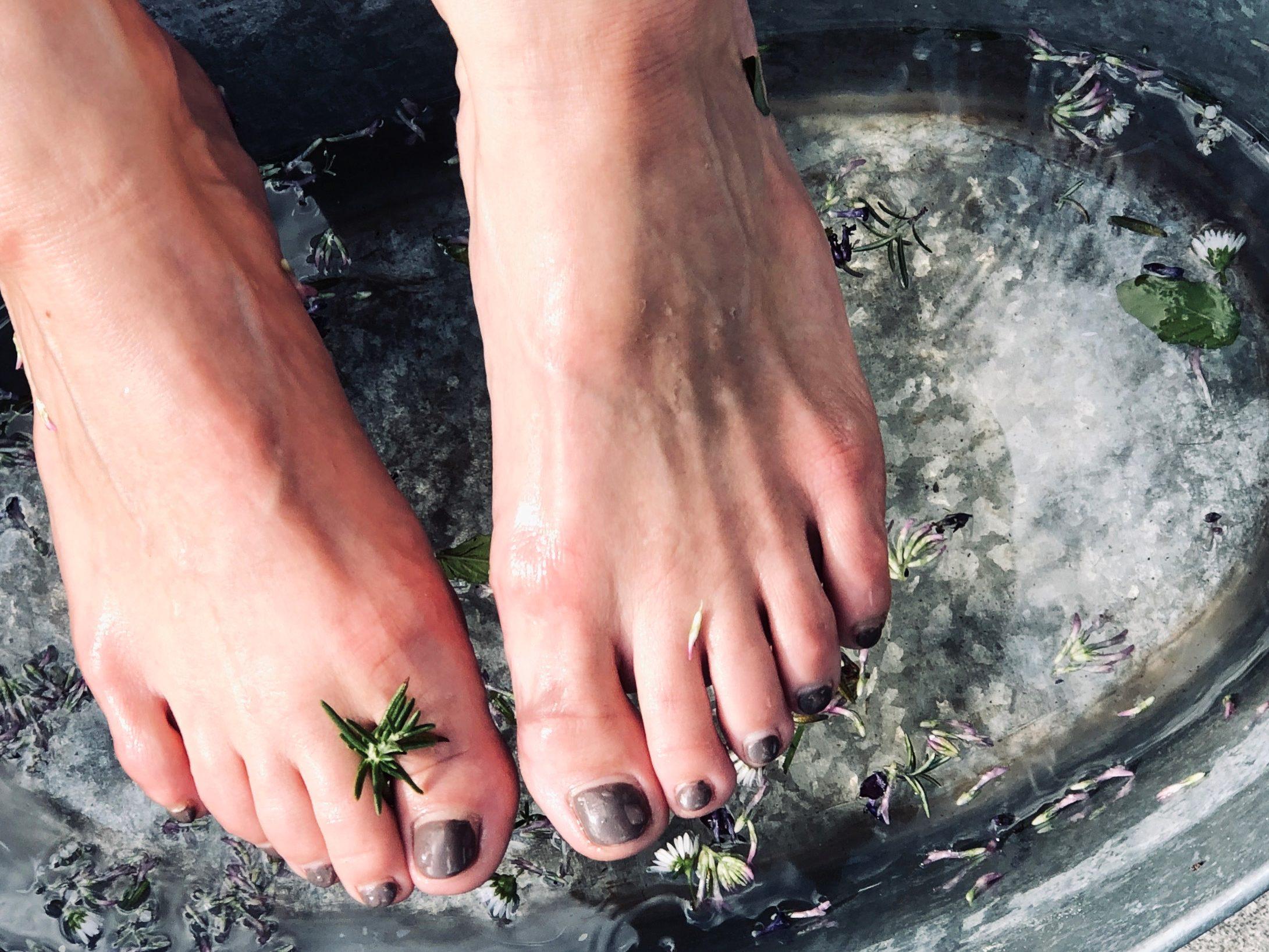 Gute-Laune Fußbad
