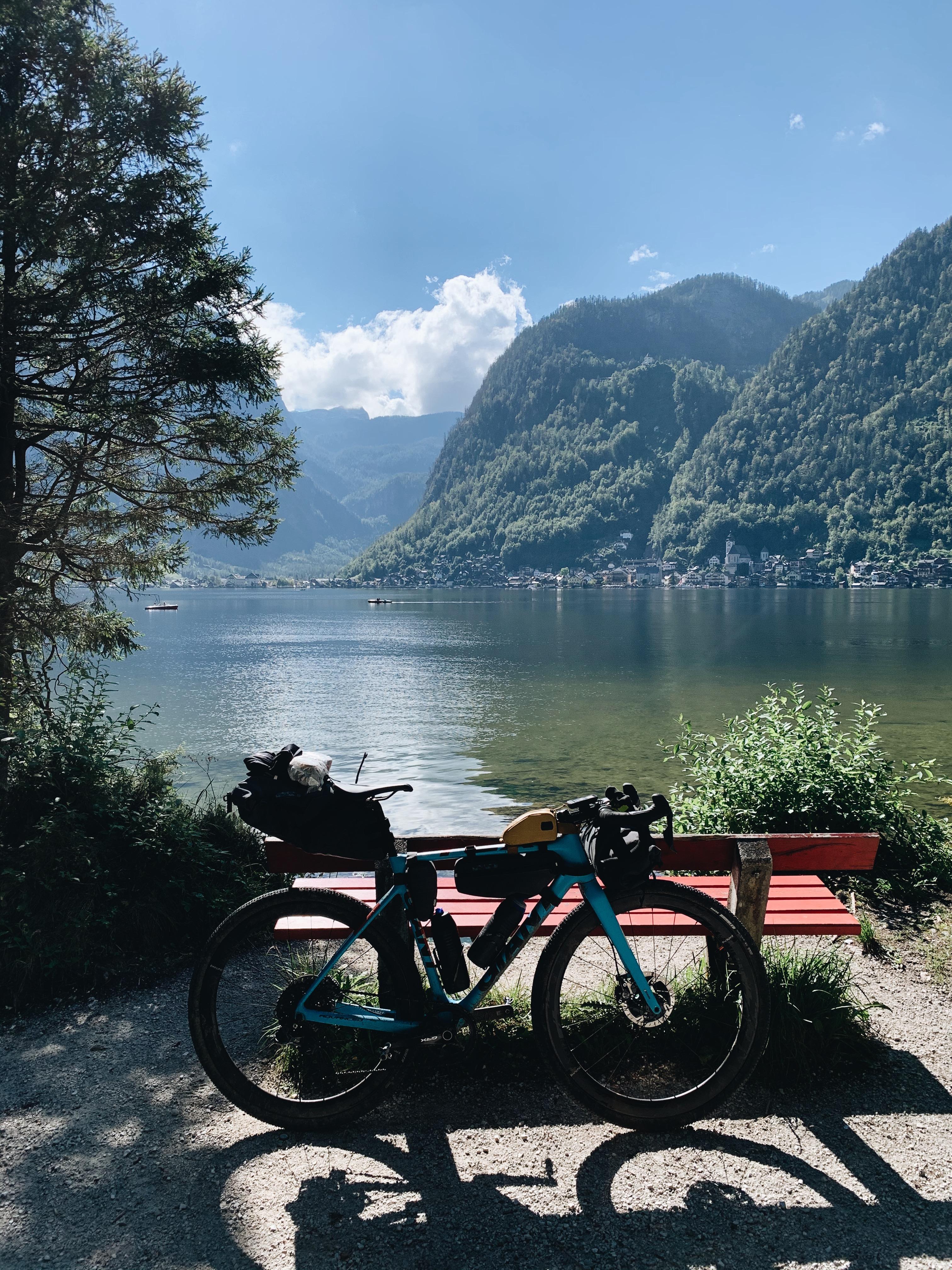 Hallstatt, Hallstättersee, Bikepacking, Radroute, Radreise