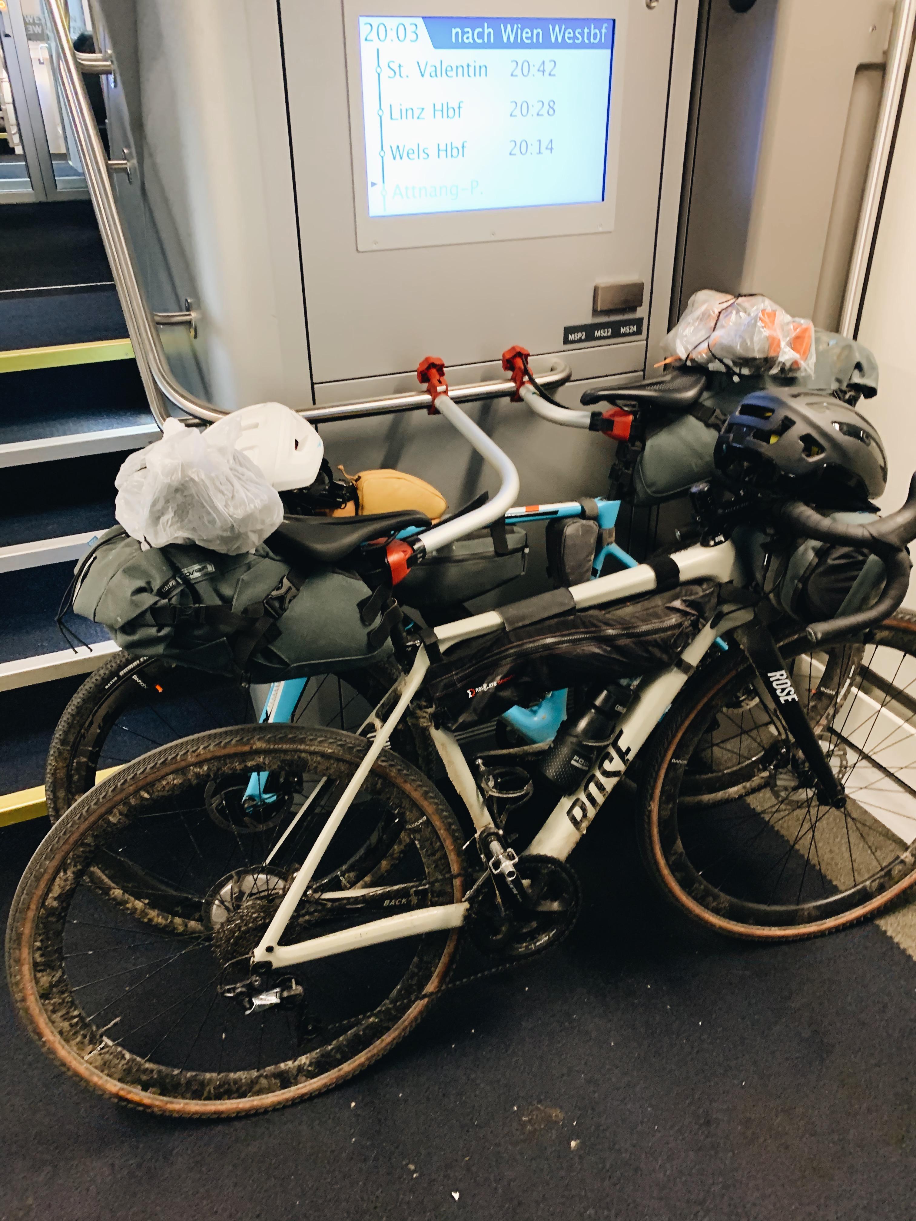 Bikepacking, Zug, Gravelbike, Radreise