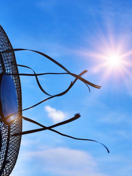 Ventilatoren sind keine Lösung für die Hitze in der Stadt. Schon jetzt machen sie gemeinsam mit Klimaanlagen ein Zehntel des weltweiten Stromverbrauchs aus. Fotocredit: © Bruno/Germany/Pixabay