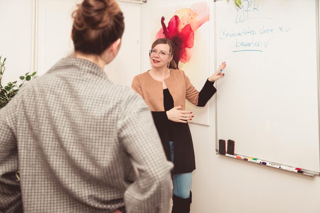 Kommunikationsmodelle können hilfreich sein – vorausgesetzt man weiß, was man der Partnerin oder dem Partner eigentlich kommunizieren möchte. Fotocredit: © #viewitlikejenni