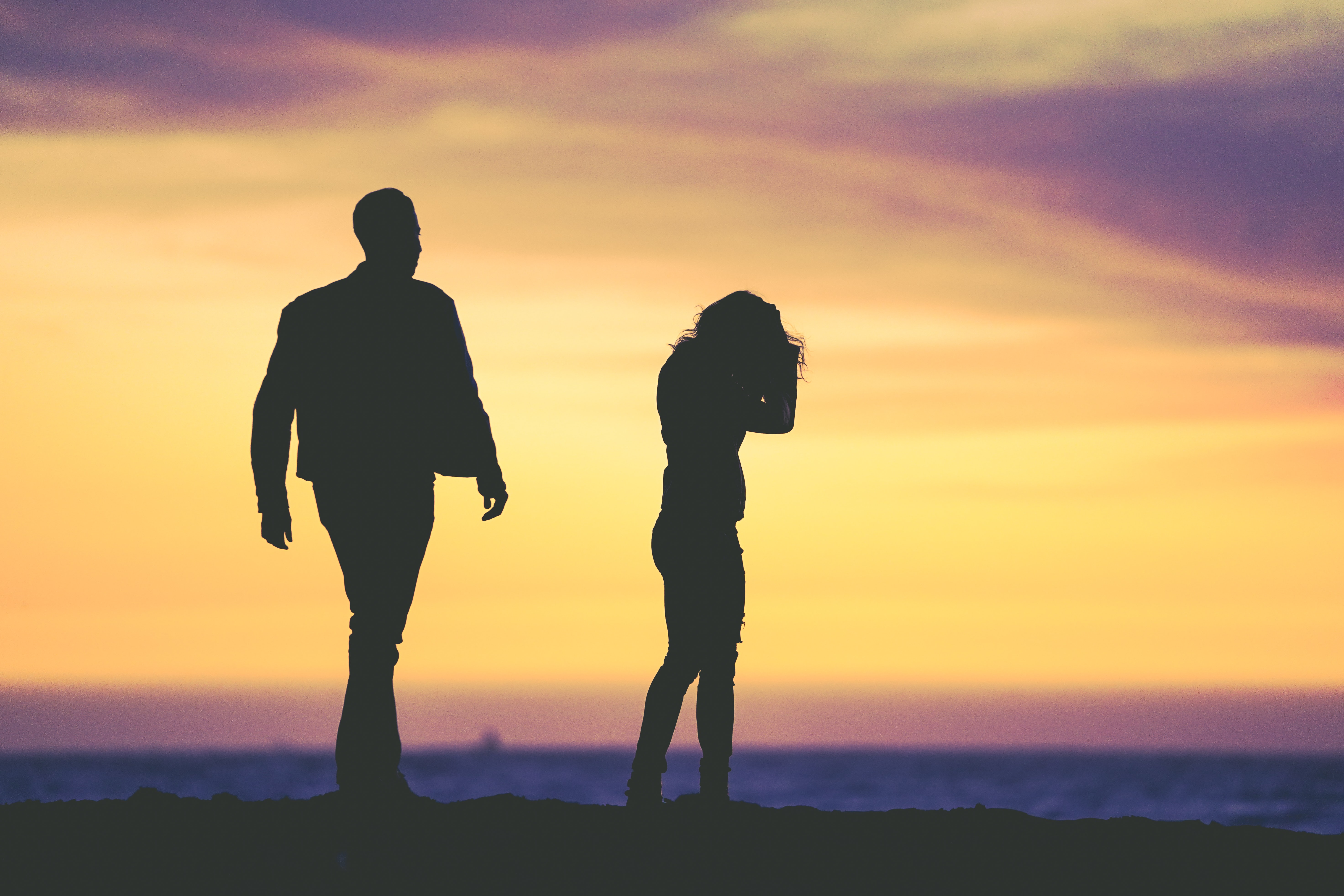 Manche Paare streiten lieber um den heißen Brei herum, als sich dem zuzuwenden, worum es eigentlich geht. Fotocredit: © Eric Ward/Unsplash