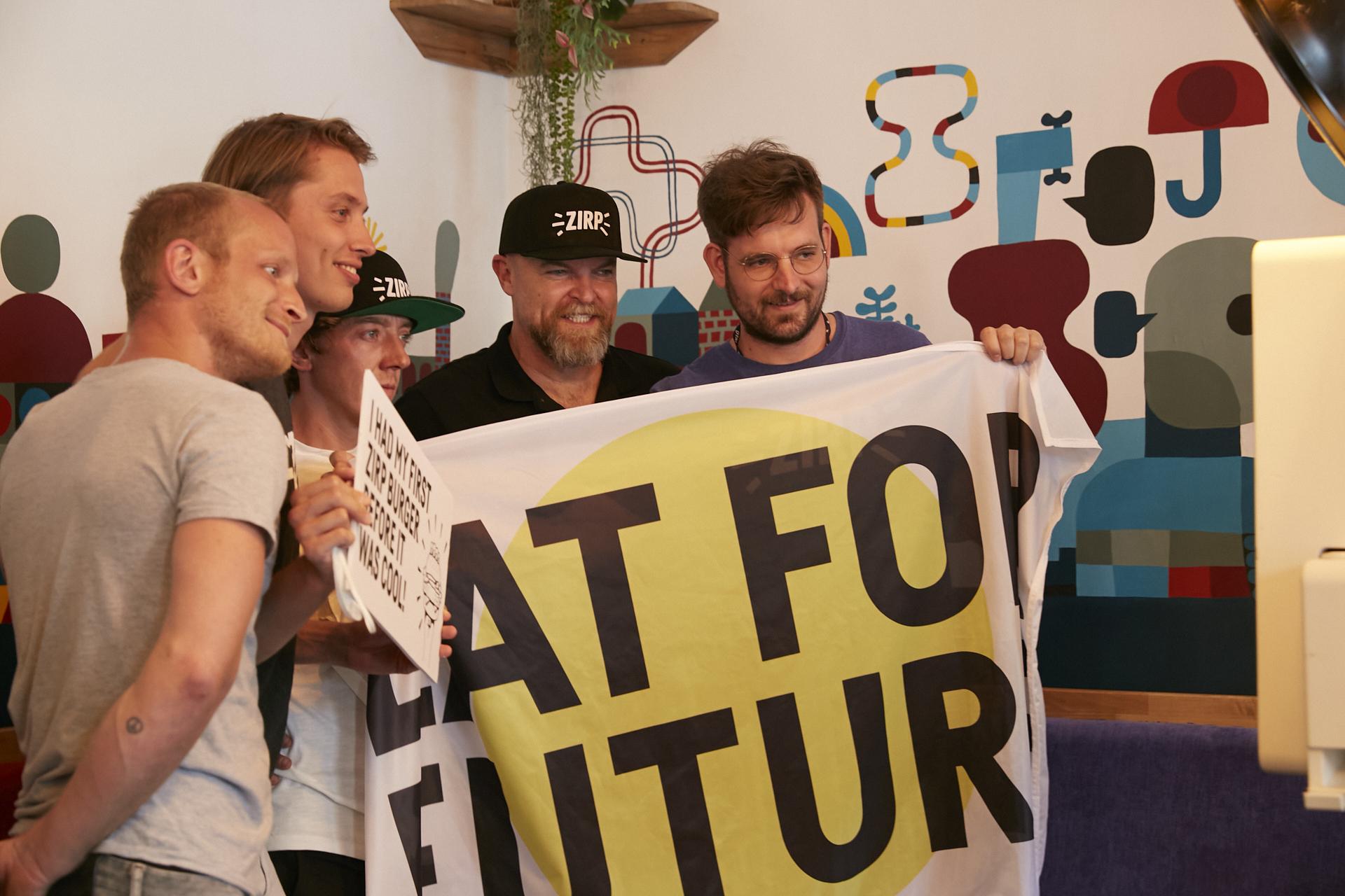 """""""Eat for future"""" – Die Zukunft nachhaltiger Ernährung liegt in unserem Konsumverhalten und damit in unserer Hand. Fotocredit: © ZIRP Insects"""