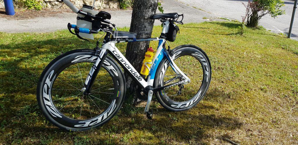 Mein gebrauchtes Rad. Fotocredit: Sabine Treffner