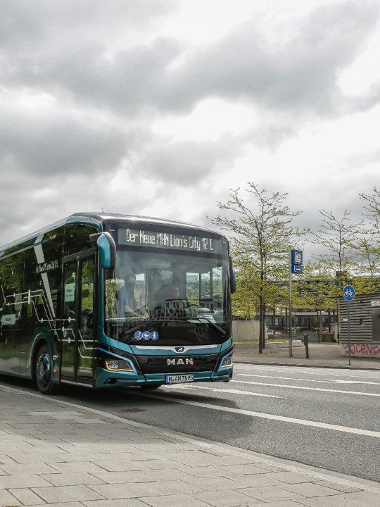 Mit dem Bus Lion's City E setzt MAN im Punkto Reichweite neue Maßstäbe. Fotocredit: © MAN Truck & Bus