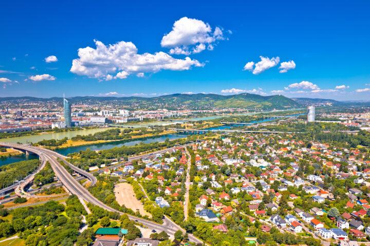 Klare Luft über Wien / Fotocredit: Shutterstock