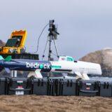 Drohnen erheben sich nicht nur in die Lüfte, sondern können auch unter Wasser wertvolle Dienste leisten, wie dieses AUV von Bedrock. Fotocredit: © Bedrock